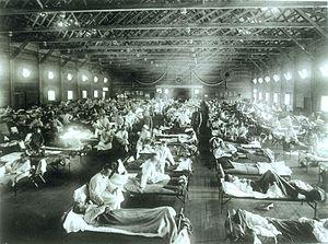 hospital flu 1918